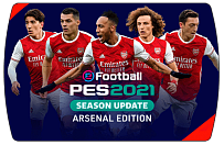 eFootball PES 2021 Arsenal Edition (ключ для ПК)