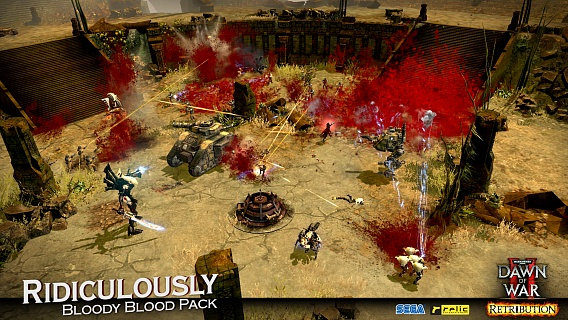 Warhammer 40000 Dawn of War II – Retribution Ridiculously Bloody Blood Pack