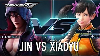 Tekken 7 - PS4/XB1/PC - Jin VS Xiaoyu (Character Gameplay)