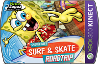 SpongeBob Surf & Skate Roadtrip для Xbox 360