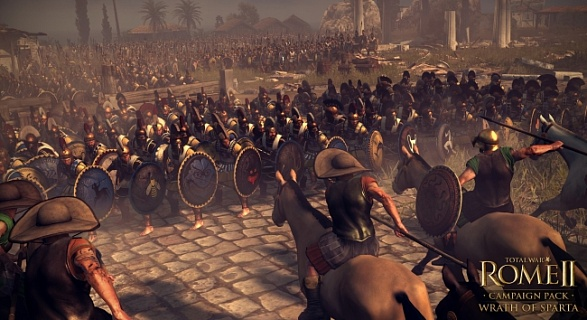 Total War Rome 2 – Wrath of Sparta Campaign Pack (ключ для ПК)