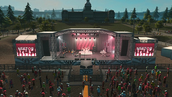 Cities Skylines – Concerts (ключ для ПК)