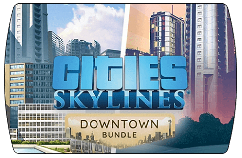 Cities Skylines – Downtown Bundle (ключ для ПК)