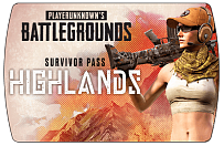 PlayerUnknown's Battlegrounds (PUBG) – Survivor Pass 9 Highlands (ключ для ПК)