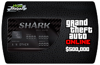500,000 $ для Grand Theft Auto V (ГТА 5) Online – GTA 5 Bull Shark Cash Card (ключ для ПК)