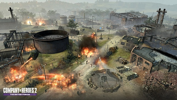 Company of Heroes 2 – The British Forces (ключ для ПК)