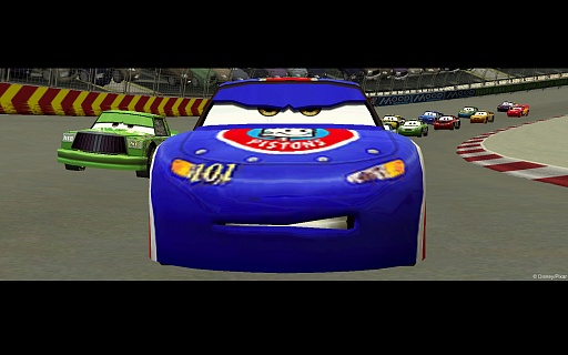 Disney Pixar Cars (ключ для ПК)